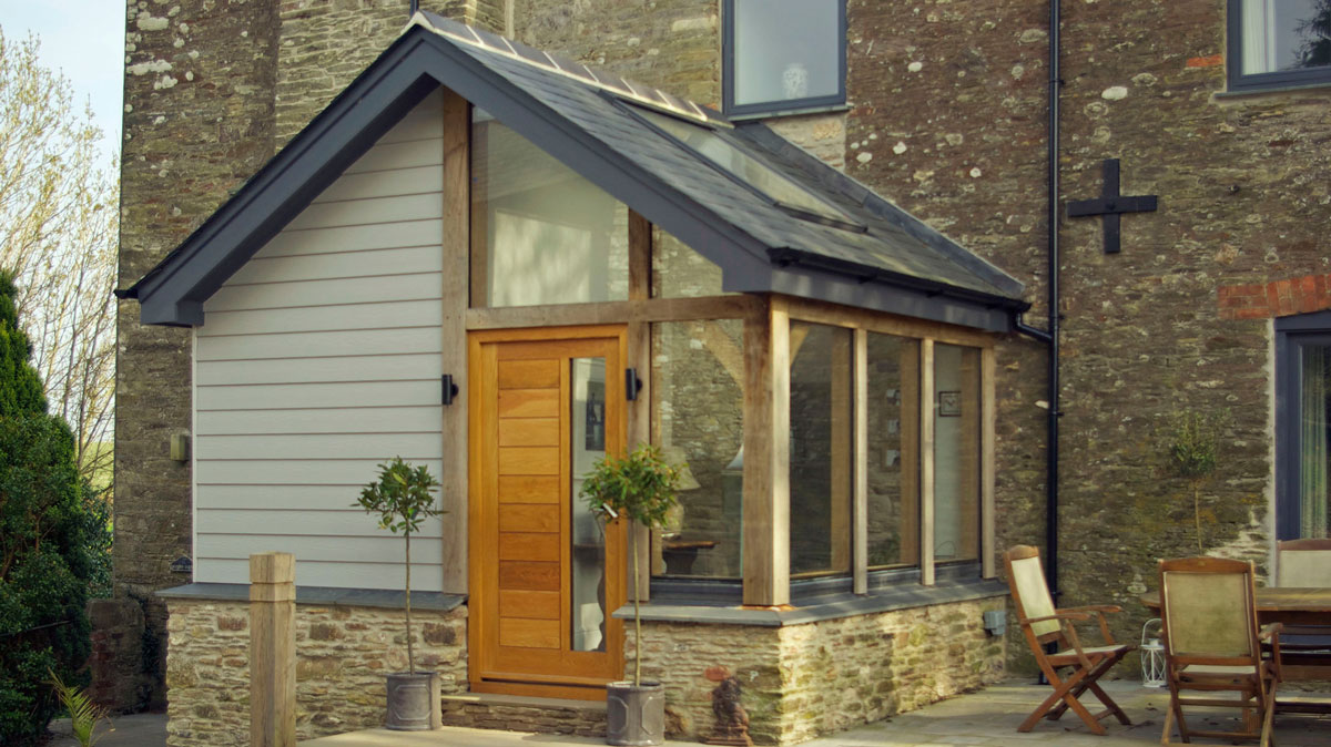 Timber Framed Extension