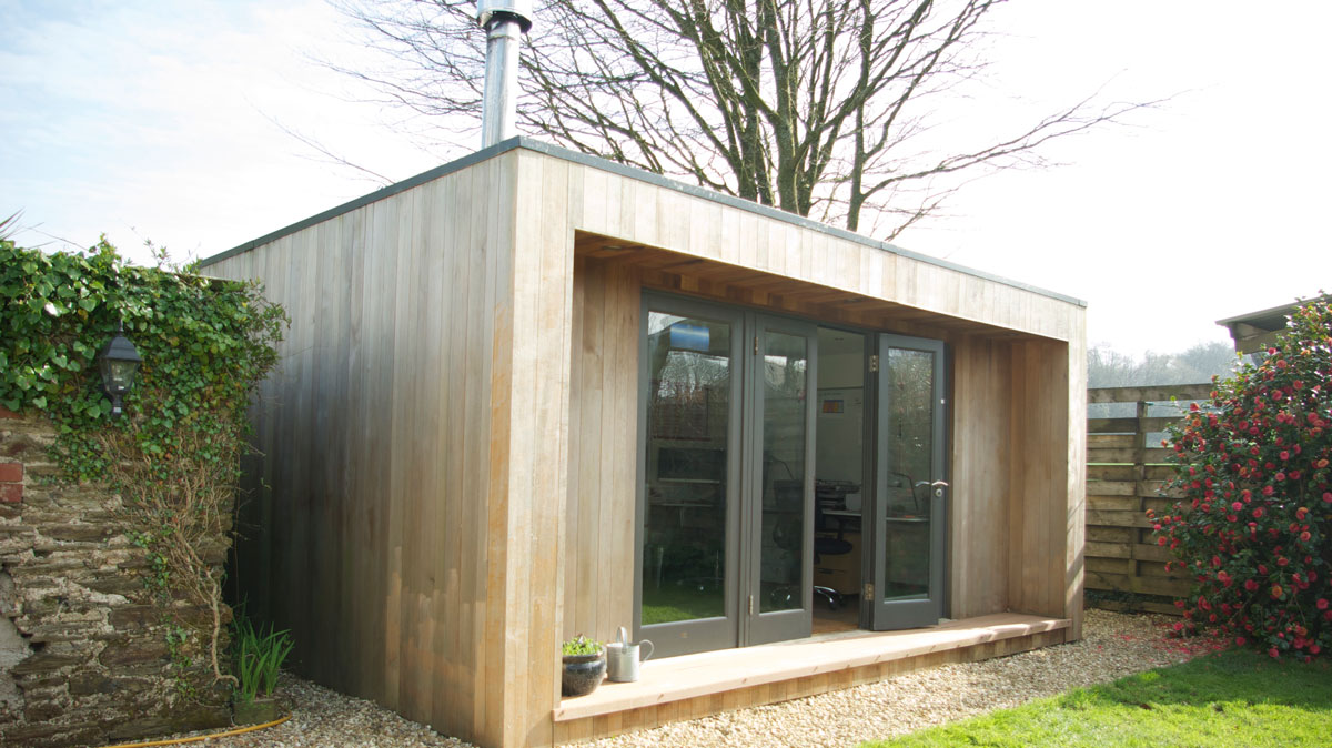 Timber garden Office