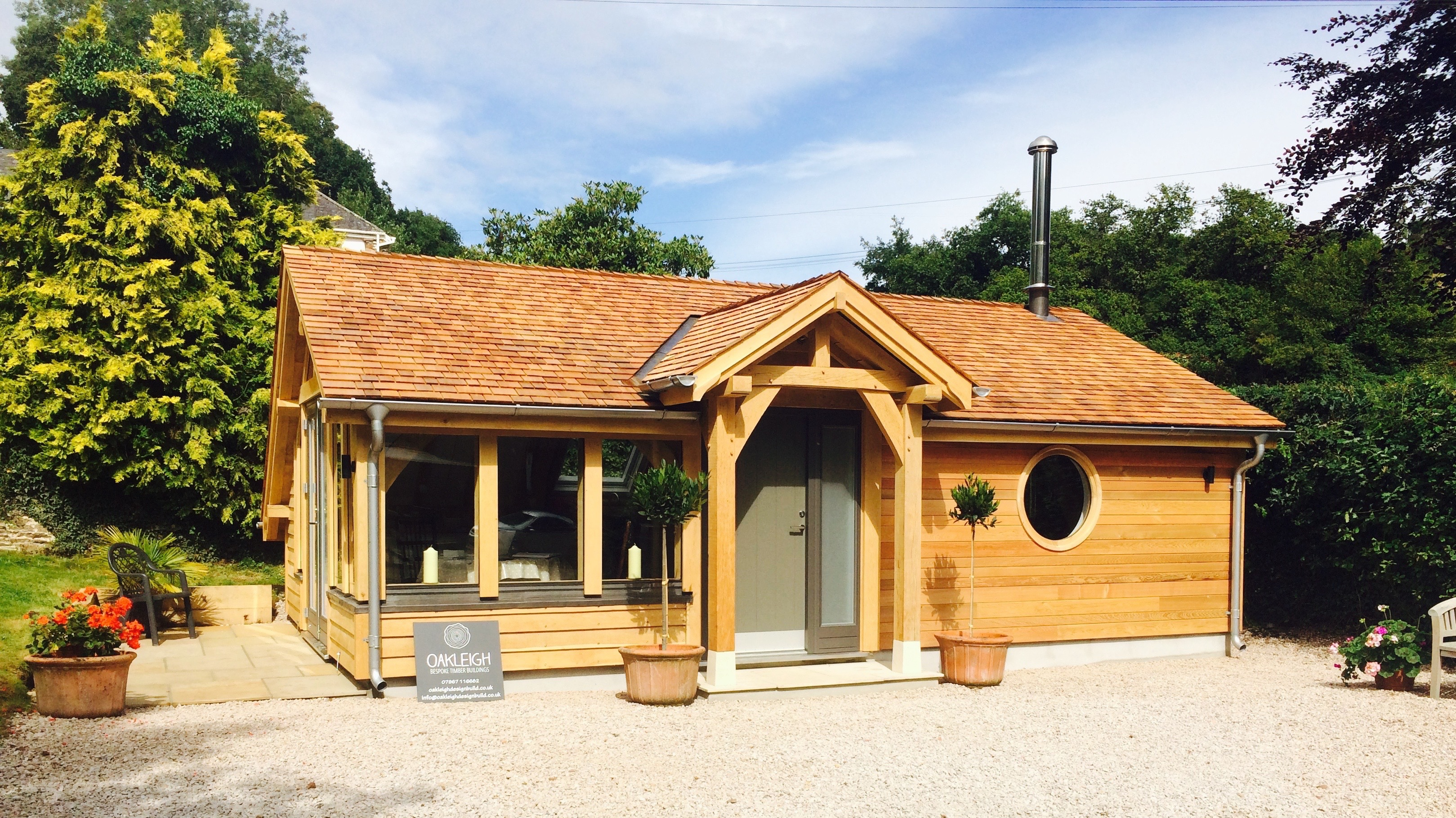 Oak Timber Frame Building
